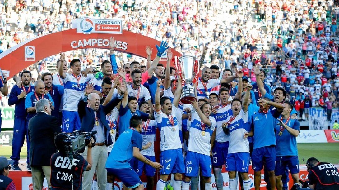 Católica venció a Temuco y se convirtió en el campeón del fútbol ... 23897aedbd26a