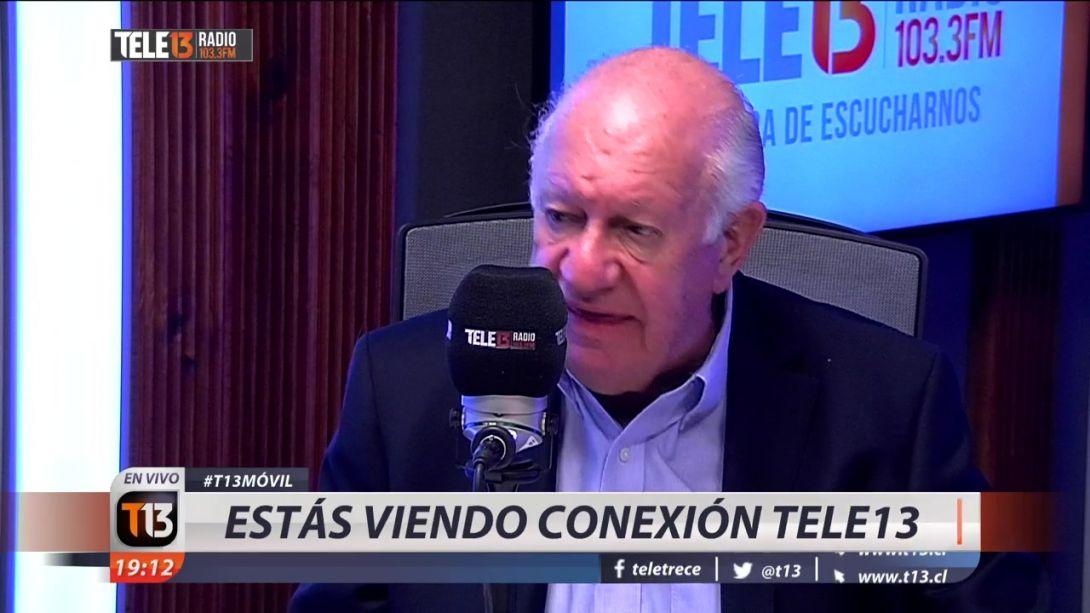 [VIDEO] Lagos acusa improvisación de Piñera frente a Pacto Migratorio