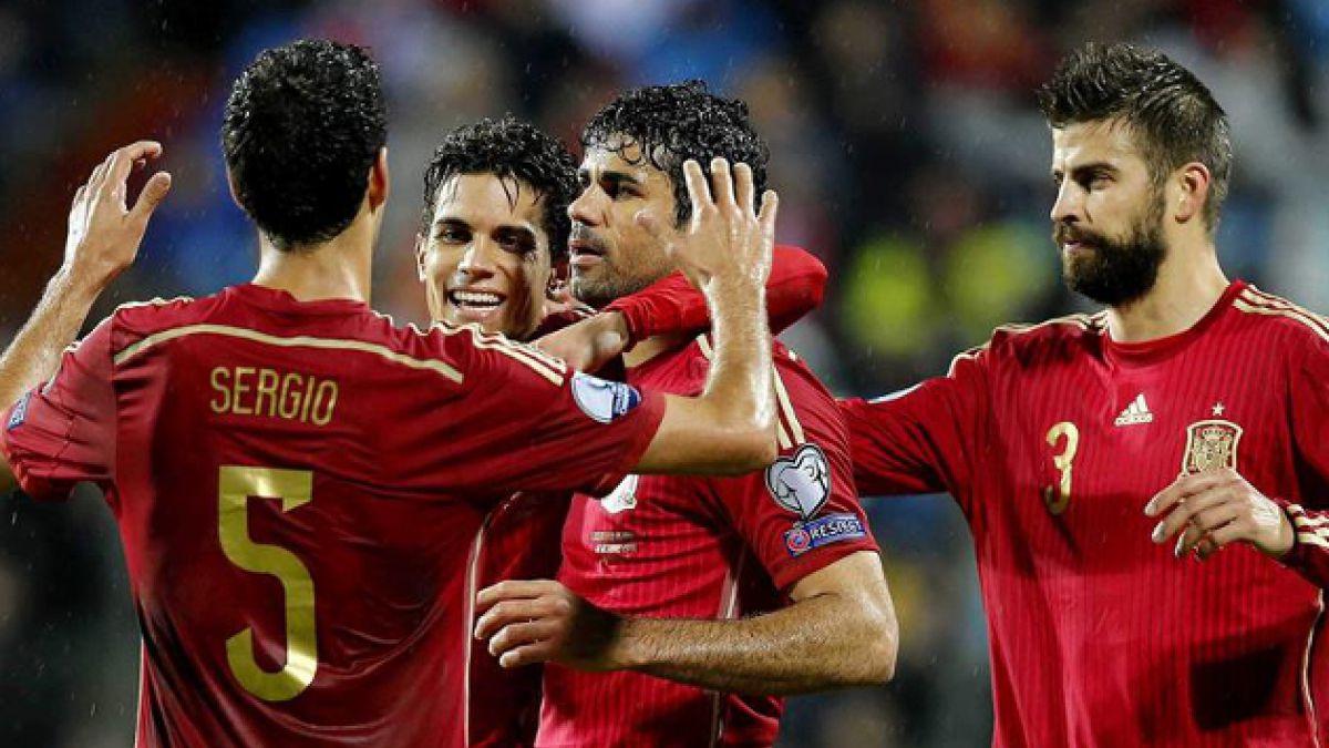 [VIDEO] Diego Costa marcó su primer gol con España después de 514 minutos