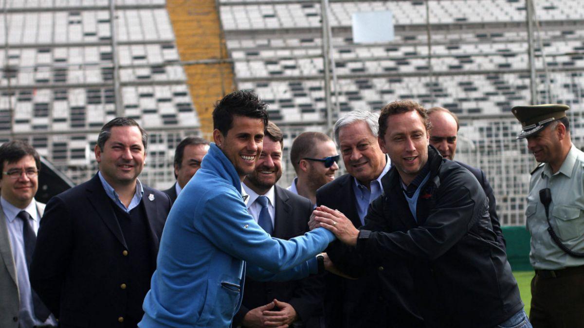 Intendente Orrego aprueba el Estadio Monumental para recibir el superclásico