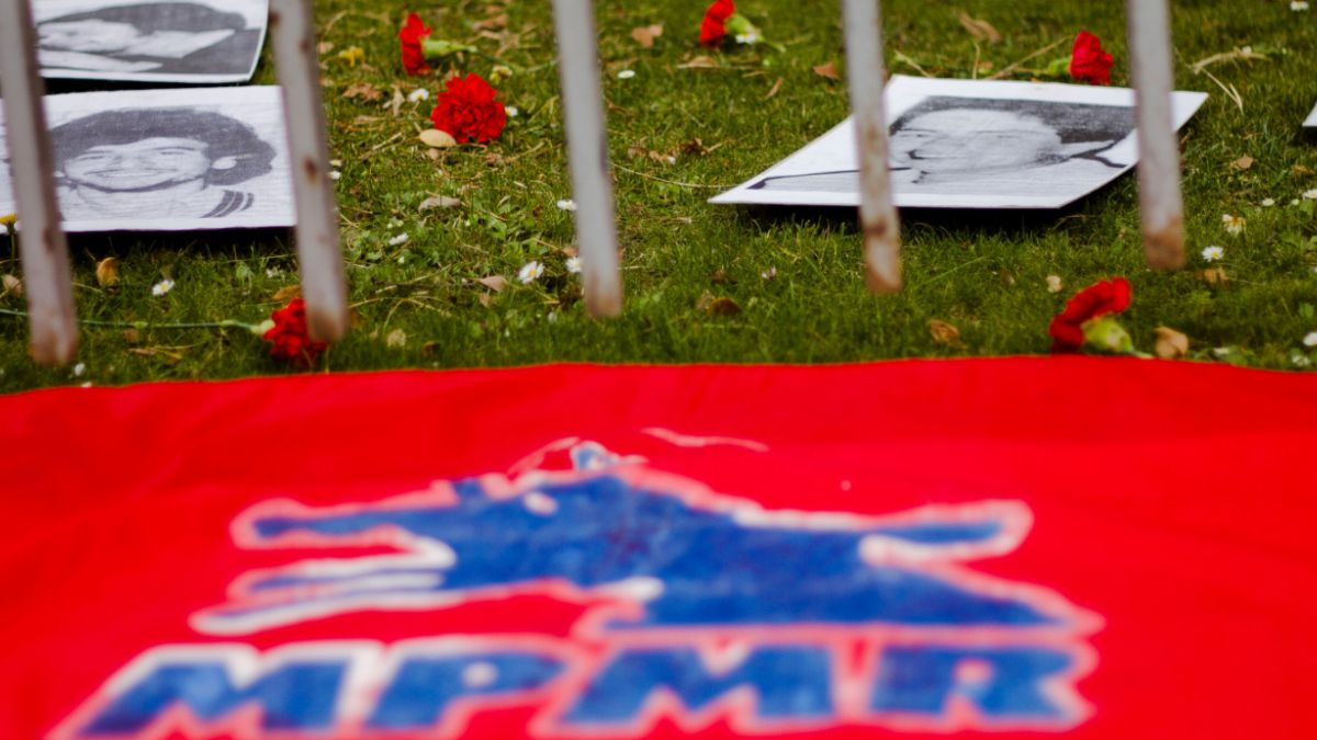 Esta tarde se realizó el funeral del ex frentista Alex Vojkovic Trier