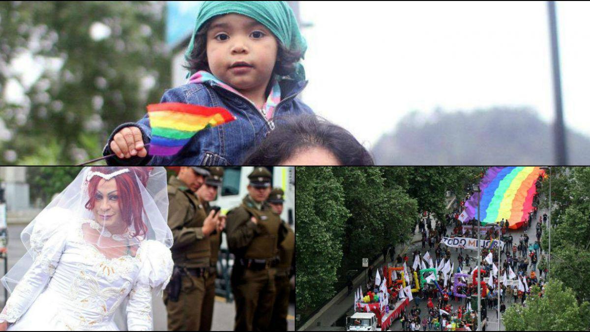 [Fotos] Las mejores imágenes de la marcha de la diversidad