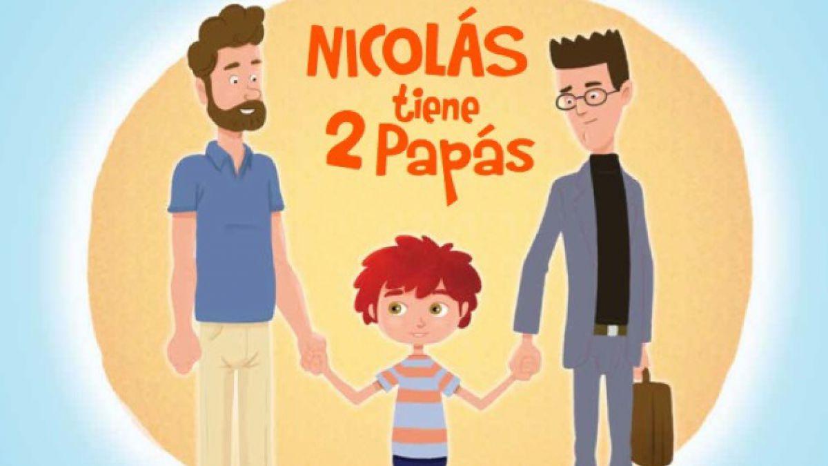 Nicolás tiene dos papás: El cuento sobre diversidad sexual que llegará a 500 jardínes infantiles