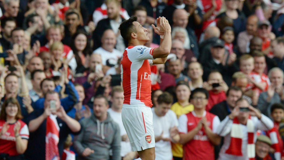 Alexis Sánchez, el cuarto mejor delantero de la Premier League según medio inglés