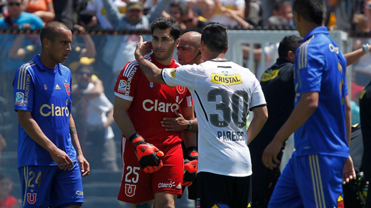 Las 10 frases de Johnny Herrera contra Colo Colo: Es un asco ir al Monumental