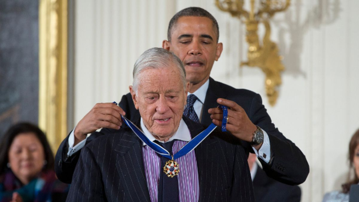 Fallece Ben Bradlee, editor del Washington Post durante el caso Watergate
