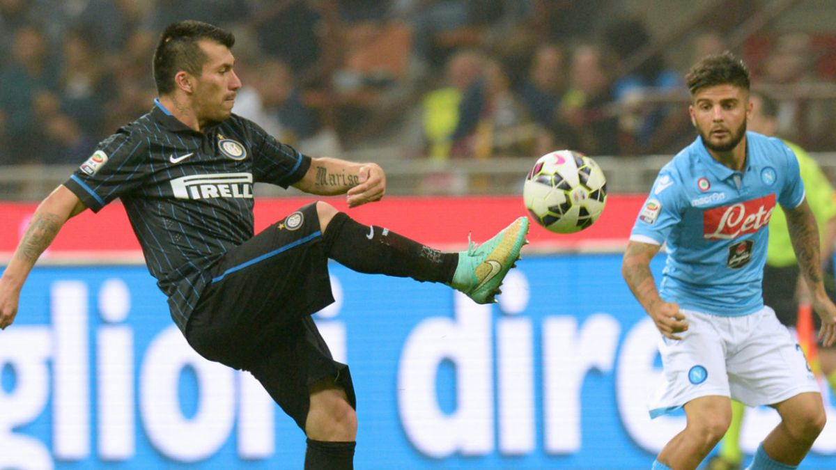 Roberto Mancini: Medel trabaja muy duro, pero Icardi debe esforzarse más