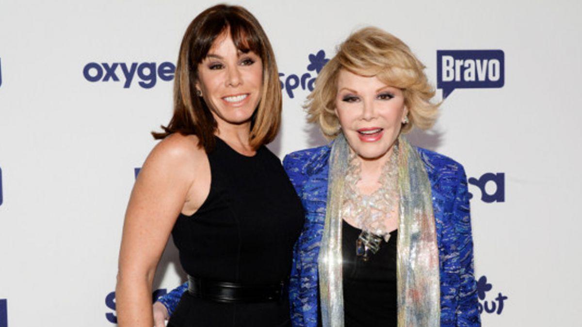 Esta es la herencia que recibirá la única hija de Joan Rivers