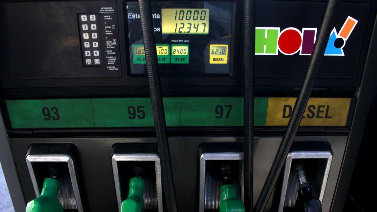 Precio de las bencinas sube por 11 semanas consecutivas