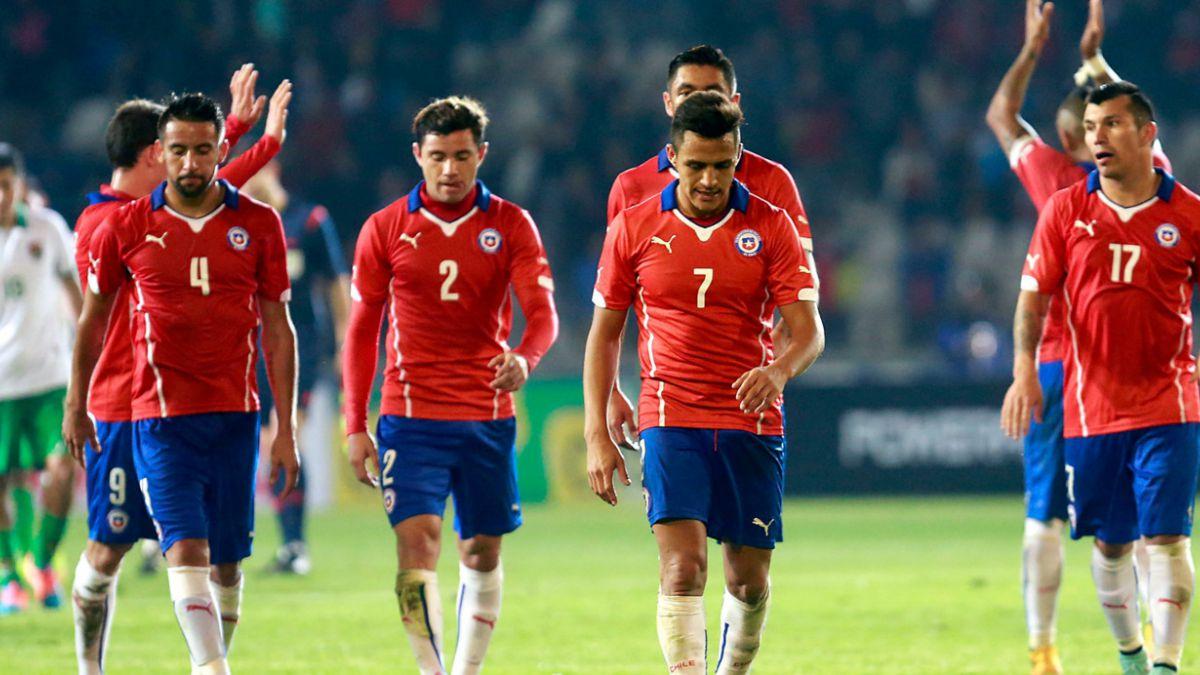 Chile cae en el ranking de la FIFA