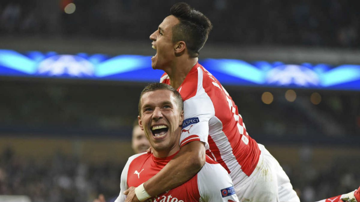 Alexis Sánchez calificado como el mejor del Arsenal