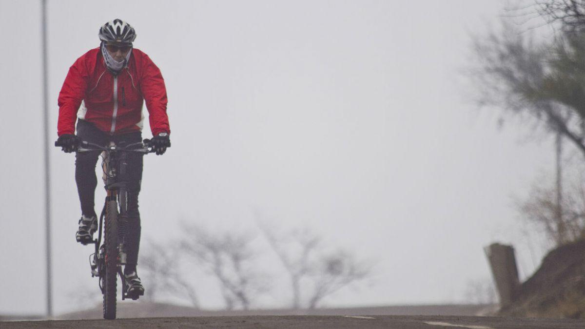 Ciclistas no podrán llegar a la cima del Cerro San Cristóbal
