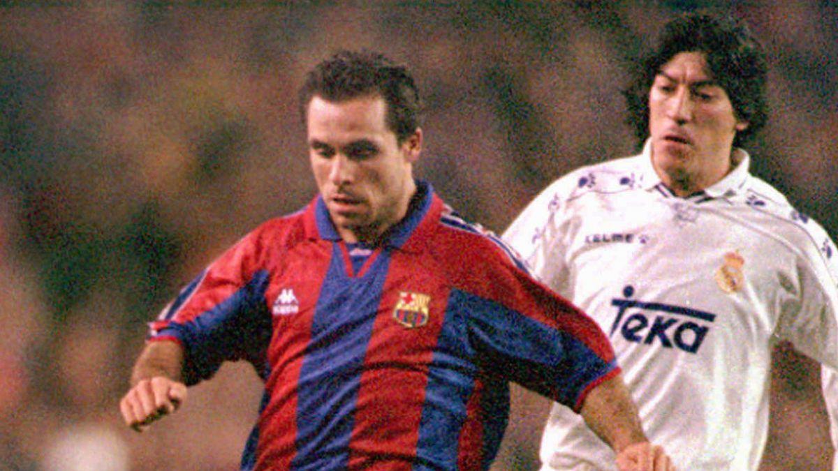 Gol de Zamorano entre los mejores de Real Madrid frente a FC Barcelona en el Bernabéu