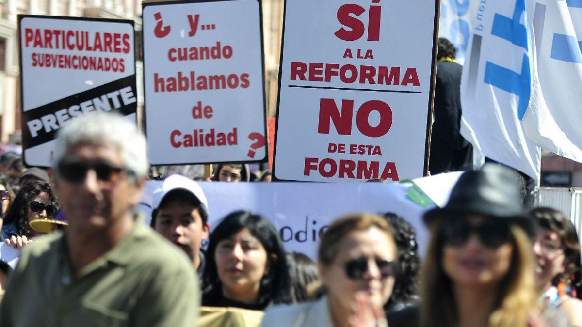 Así será la nueva marcha de la Confepa contra la Reforma Educacional