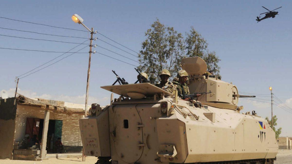 Ataque a puesto militar en el Sinai egipcio deja 25 muertos