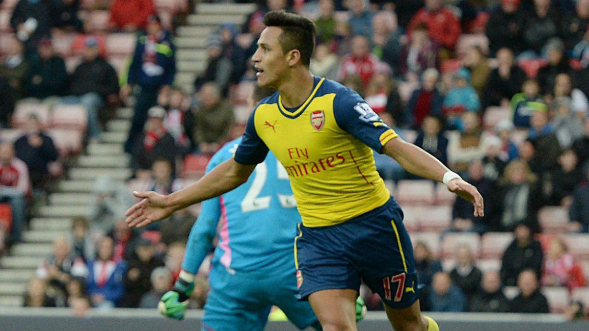 [VIDEOS] Alexis es figura en triunfo de Arsenal ante Sunderland con dos grandes goles