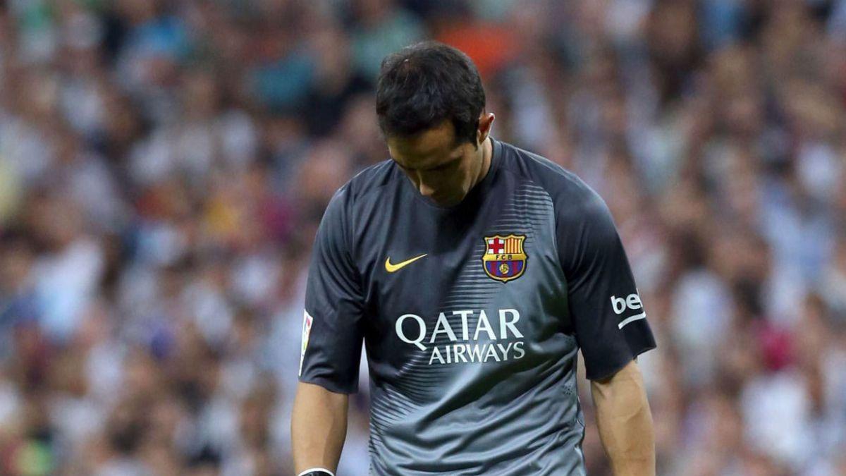 El Real Madrid vence a Barcelona y acaba con el invicto de Claudio Bravo