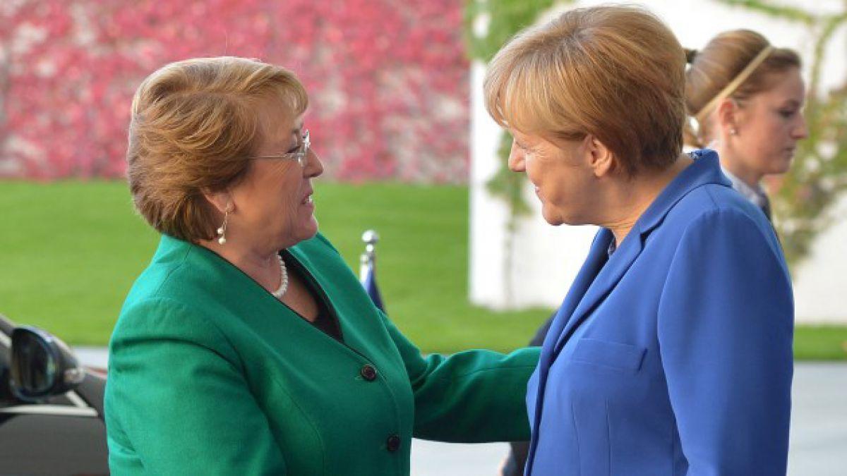 Bachelet aborda con Merkel mecanismos para realizar una reforma constitucional