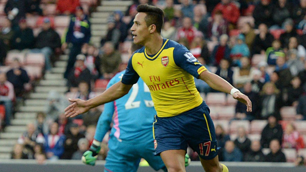 Cuatro diferencias entre el presente de Alexis en Arsenal y su paso por FC Barcelona