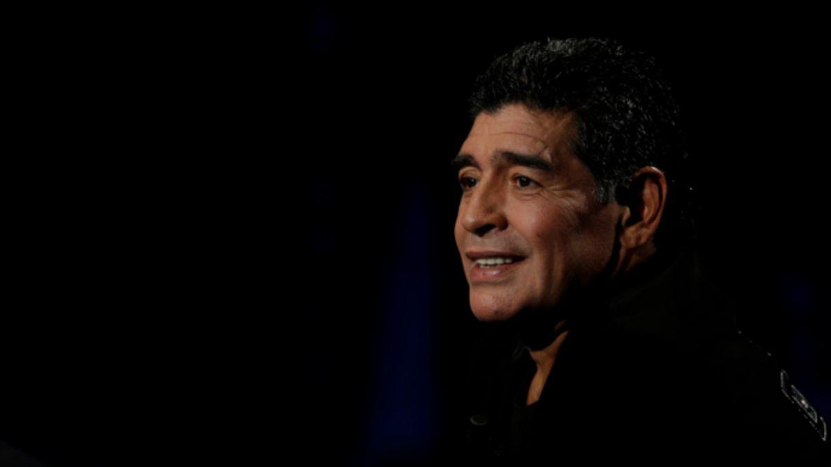 El video que muestra a Diego Maradona golpeando a su ex pareja