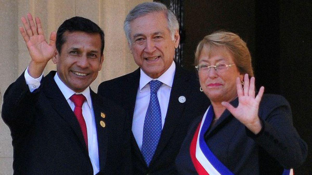 Los tres argumentos de Ollanta Humala contra Piñera por el triángulo terrestre
