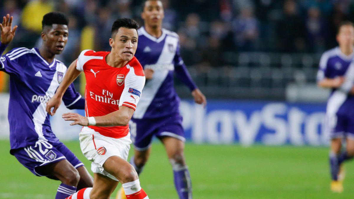 Alexis Sánchez nuevamente es elegido el mejor jugador del mes en Arsenal FC