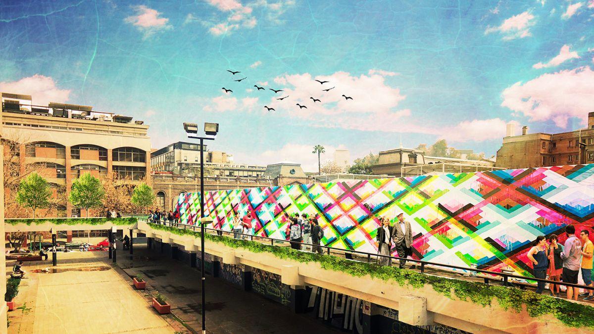 Las pasarelas sustentables que remodelarán el Barrio San Borja