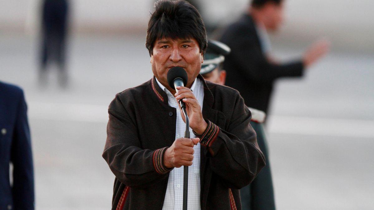 Evo Morales por Bachelet: Si no quiere visitarnos respetamos, es su derecho