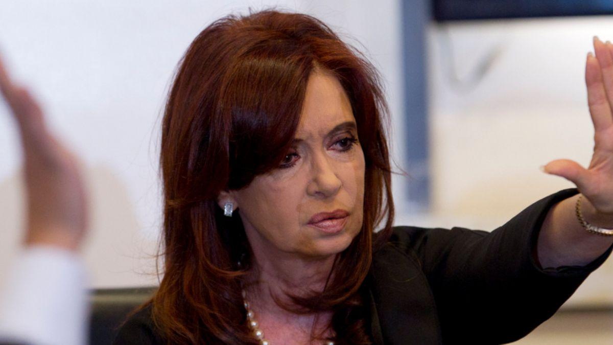 Cristina Fernández deberá estar 10 días en reposo tras el alta