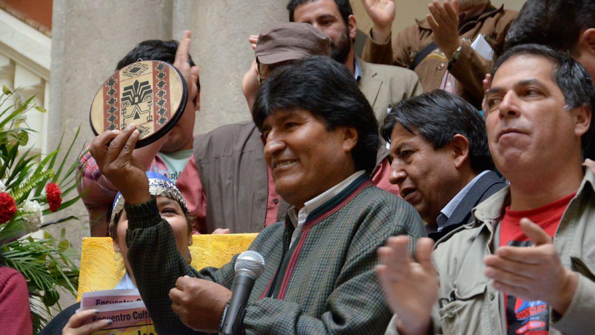 Evo Morales pide acciones para dar a acceso al mar a países sin litoral