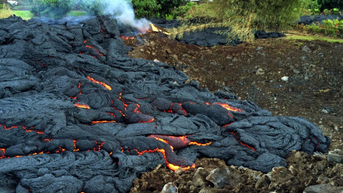 """Obama califica como """"catástrofe grave"""" el avance de lava del volcán Kilauea"""
