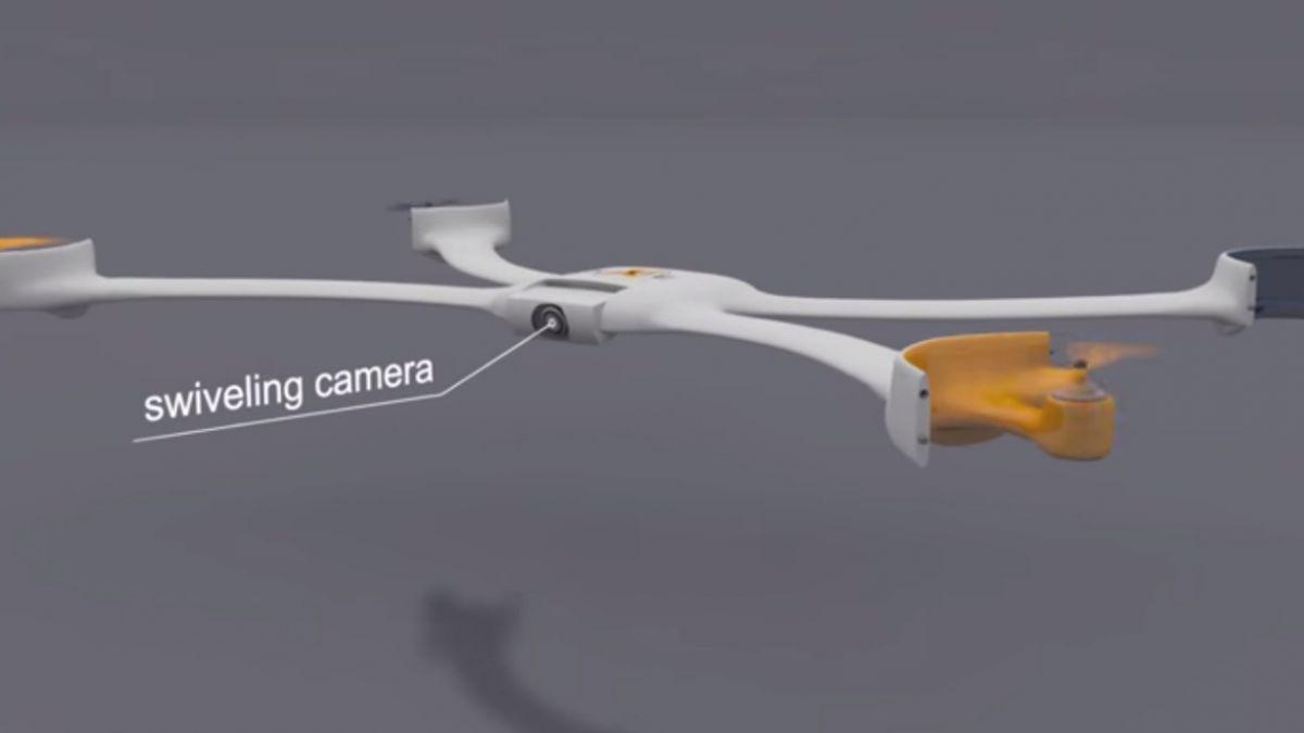 Así funciona la pulsera-drone que ganó 500 mil dólares