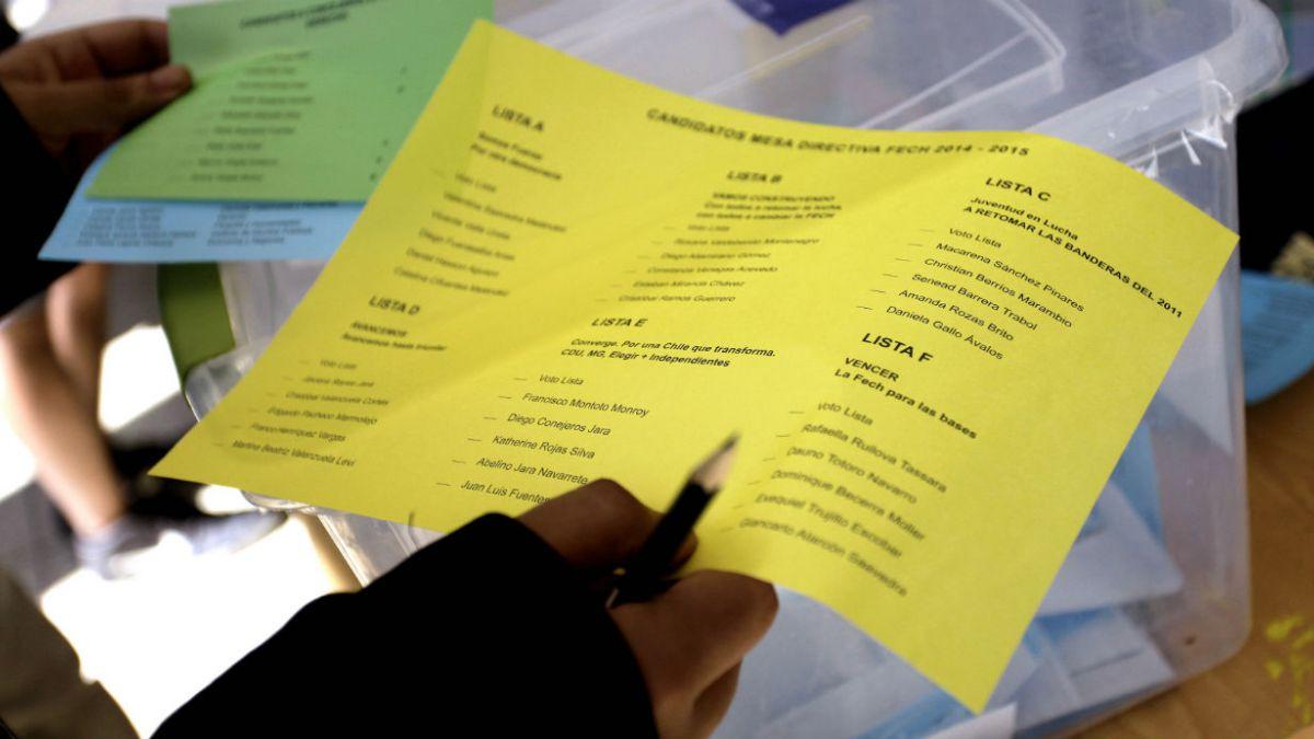 Baja participación marca primera jornada de elecciones Fech y comicios podrían repetirse