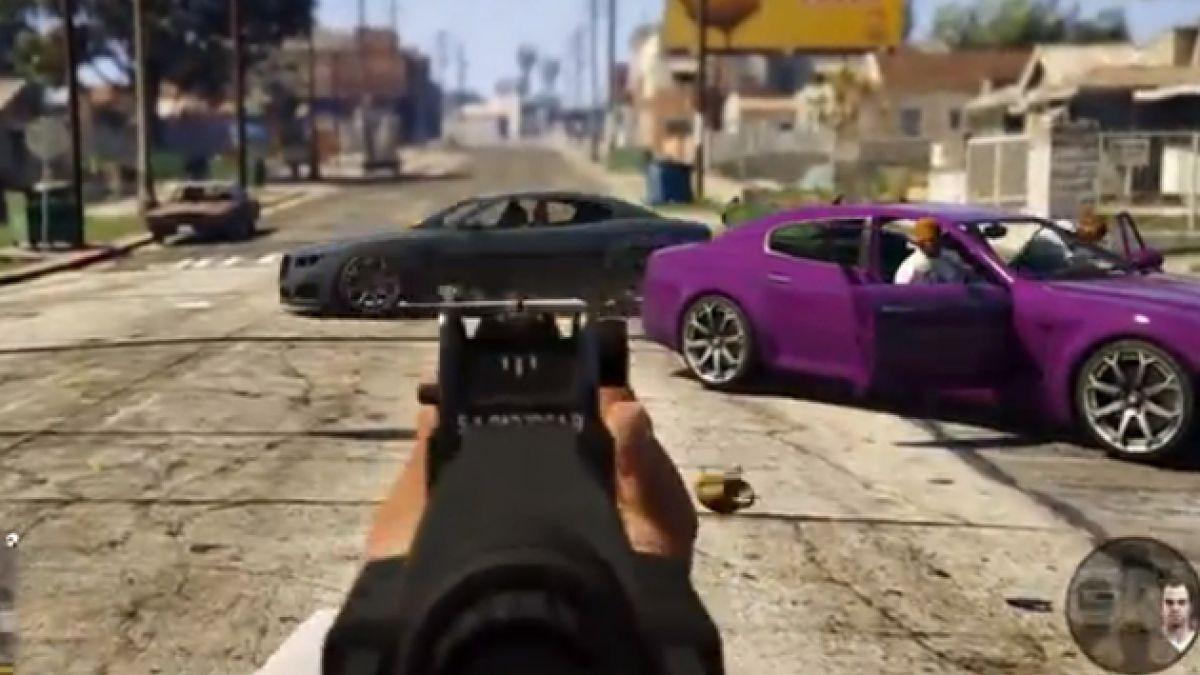 Nueva edición del GTA V tendrá modo primera persona