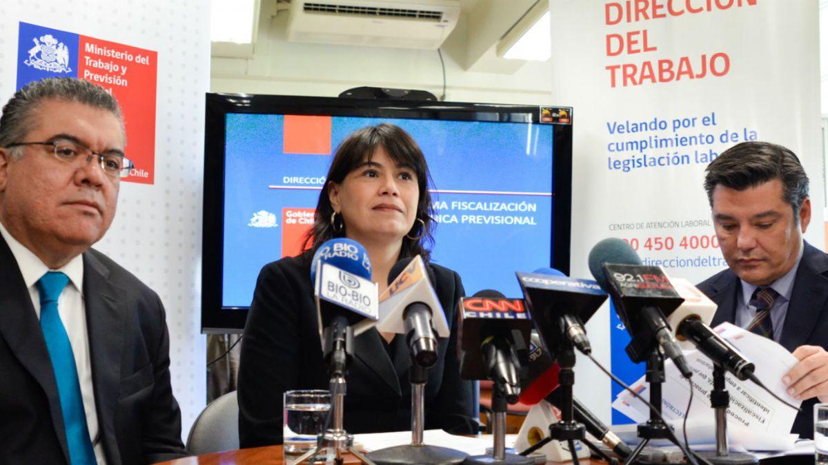 Ministerio del Trabajo presenta sistema para detectar irregularidades en pago de cotizaciones