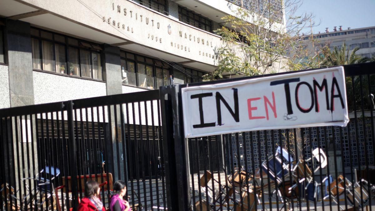 Suprema ordena a rectoría del Instituto Nacional evitar tomas