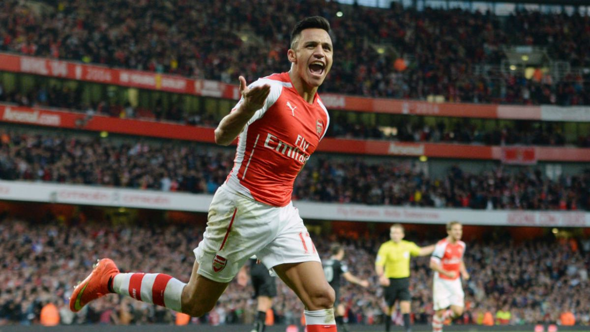 Como un jugador que va camino a ser leyenda calificó la prensa inglesa a Alexis Sánchez