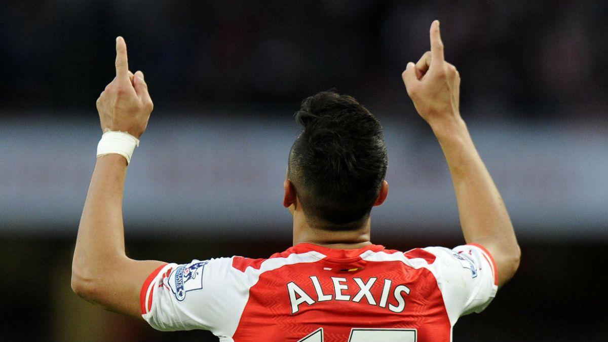 Alexis Sánchez, el mejor jugador de Arsenal FC por tercer mes consecutivo