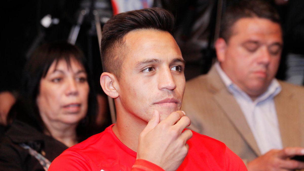Alexis Sánchez muestra su molestia con tipo que se hace pasar por él en redes sociales