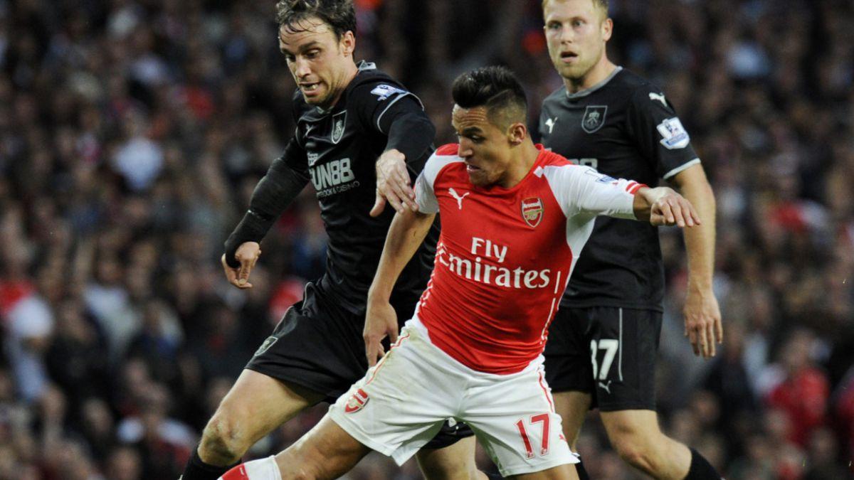 Alexis Sánchez lidera los números de Arsenal FC esta temporada