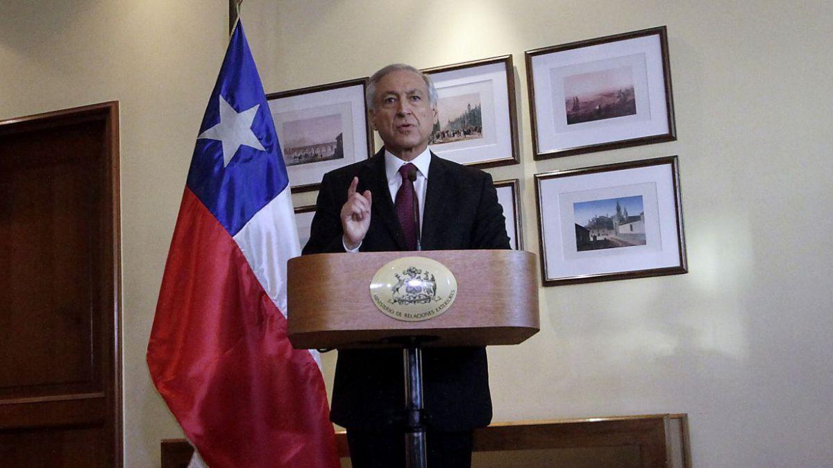 Canciller Muñoz: Lo que pretende Bolivia, de una manera encubierta, es desconocer el tratado