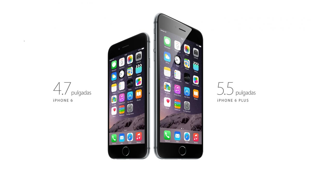 Estos son los precios del iPhone 6 y 6 Plus