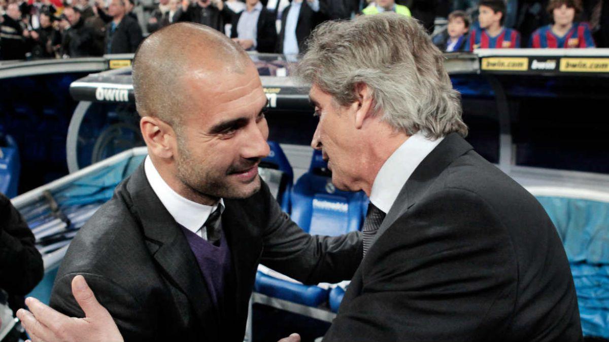 Prensa inglesa especula con que Pep Guardiola reemplazaría a Pellegrini en Manchester City