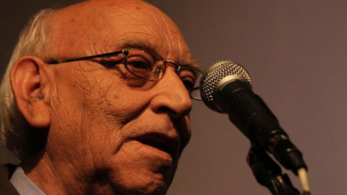 Juan Radrigán es galardonado por el Consejo Nacional del Libro y la Lectura en género dramaturgia
