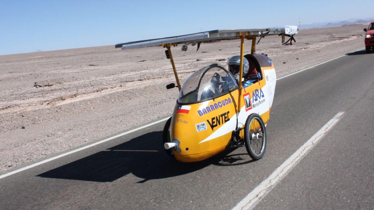 Este lunes comenzó la Carrera Solar Atacama