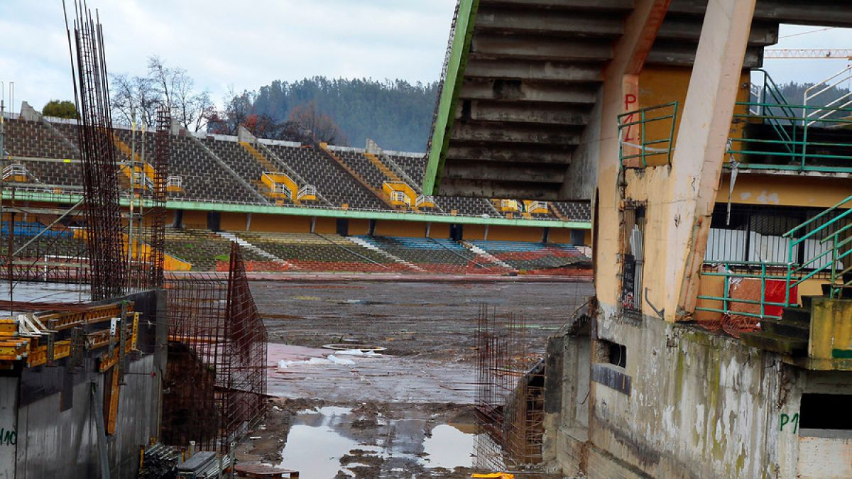 Copa América: ANFP encarga a empresa evaluar avance del Ester Roa de Concepción