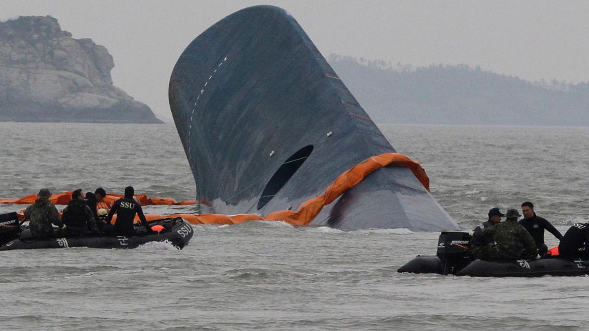 Capitán de ferry surcoreano que se hundió en abril es condenado a 36 años de cárcel