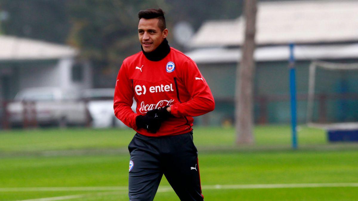 Alexis Sánchez se integra hoy a la Selección chilena
