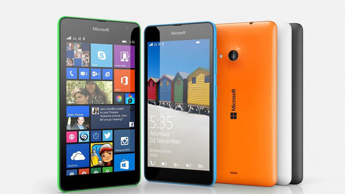 Microsoft presentó su primer smartphone, el Lumia 535