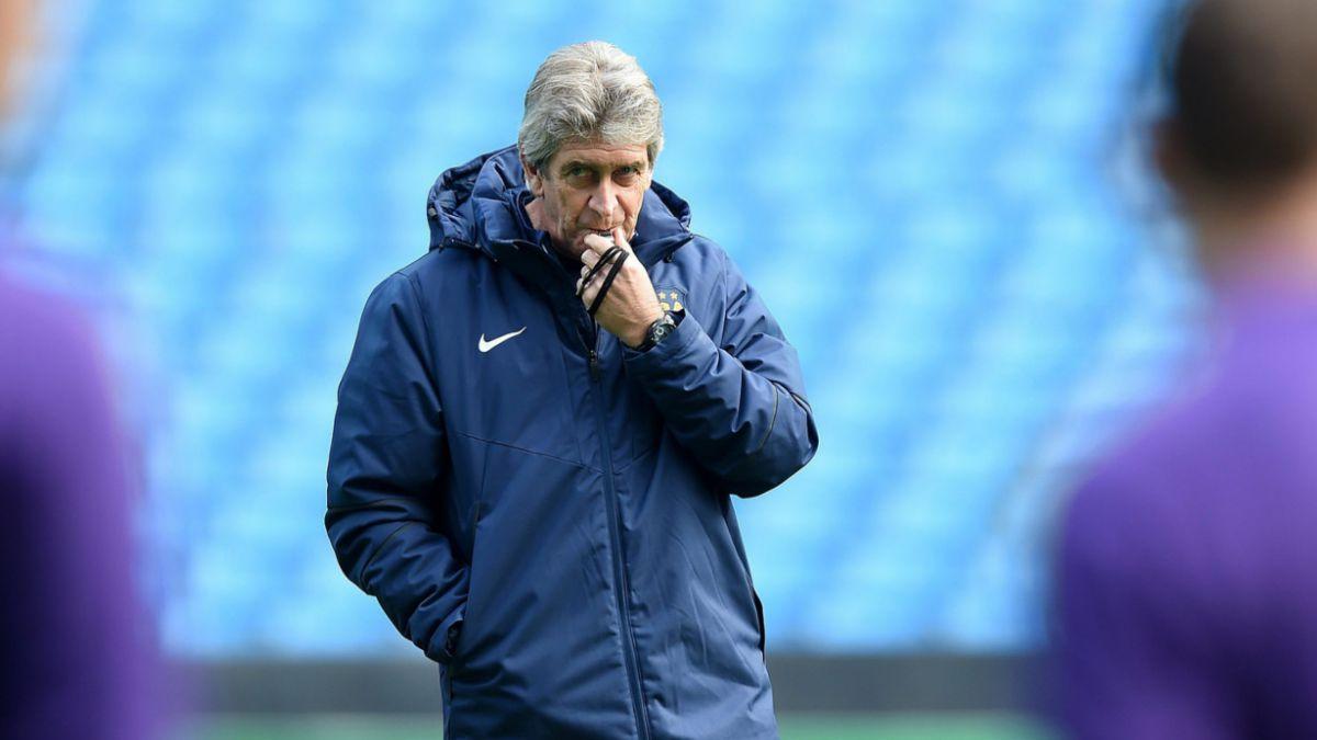 Manchester City revisará continuidad de Manuel Pellegrini